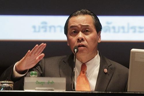 บัณฑูร ล่ำซำ ประธานกรรมการ บมจ.ธนาคารกสิกรไทย
