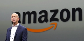 เจฟฟ์ เบซอส (Jeff Bezos) ซีอีโอแอมะซอน ภาพจาก AFP